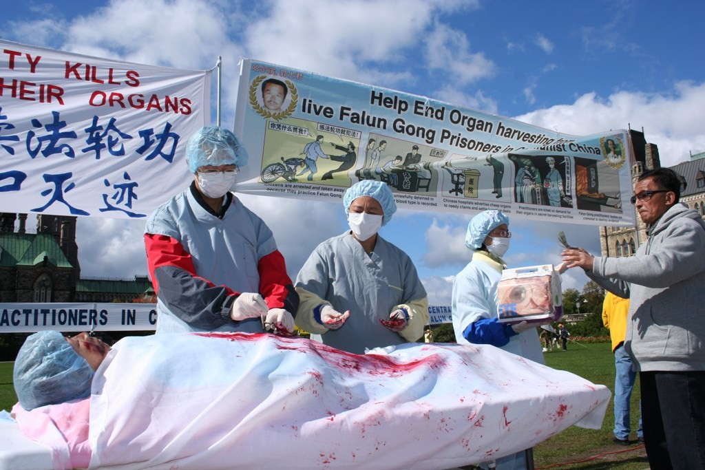 China assassinou cristãos para extração de órgãos