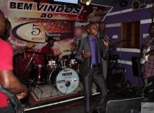 O músico Kapakata marcou presença no evento
