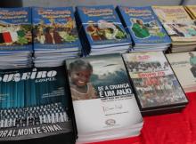 Concerto contou com a exposição de vários livros e discos evangélicos.