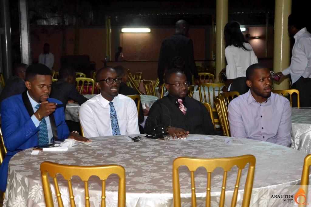 Referenciados nomes da música gospel, participaram no evento.