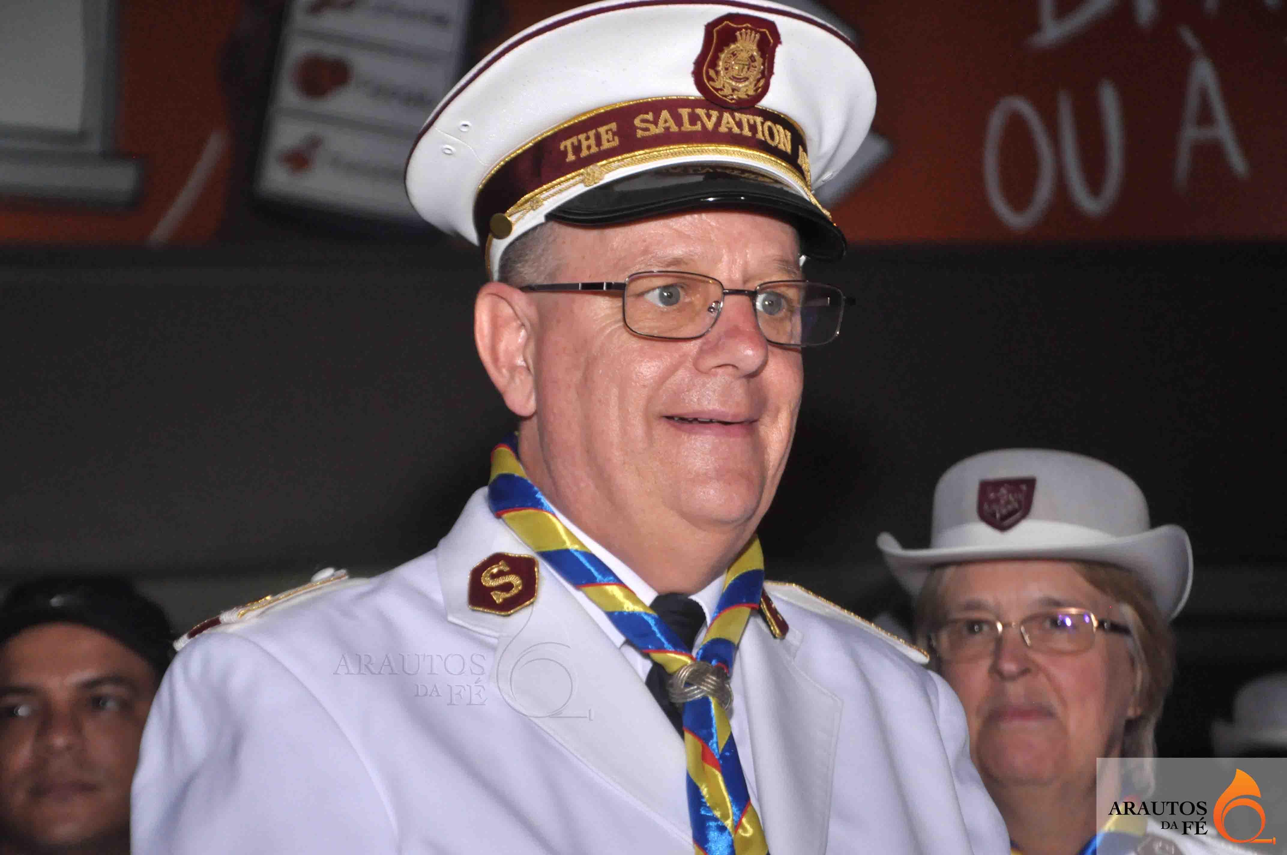 General André Cox, líder da Igreja Exército da Salvação. (Foto: Jaime Chiquito)