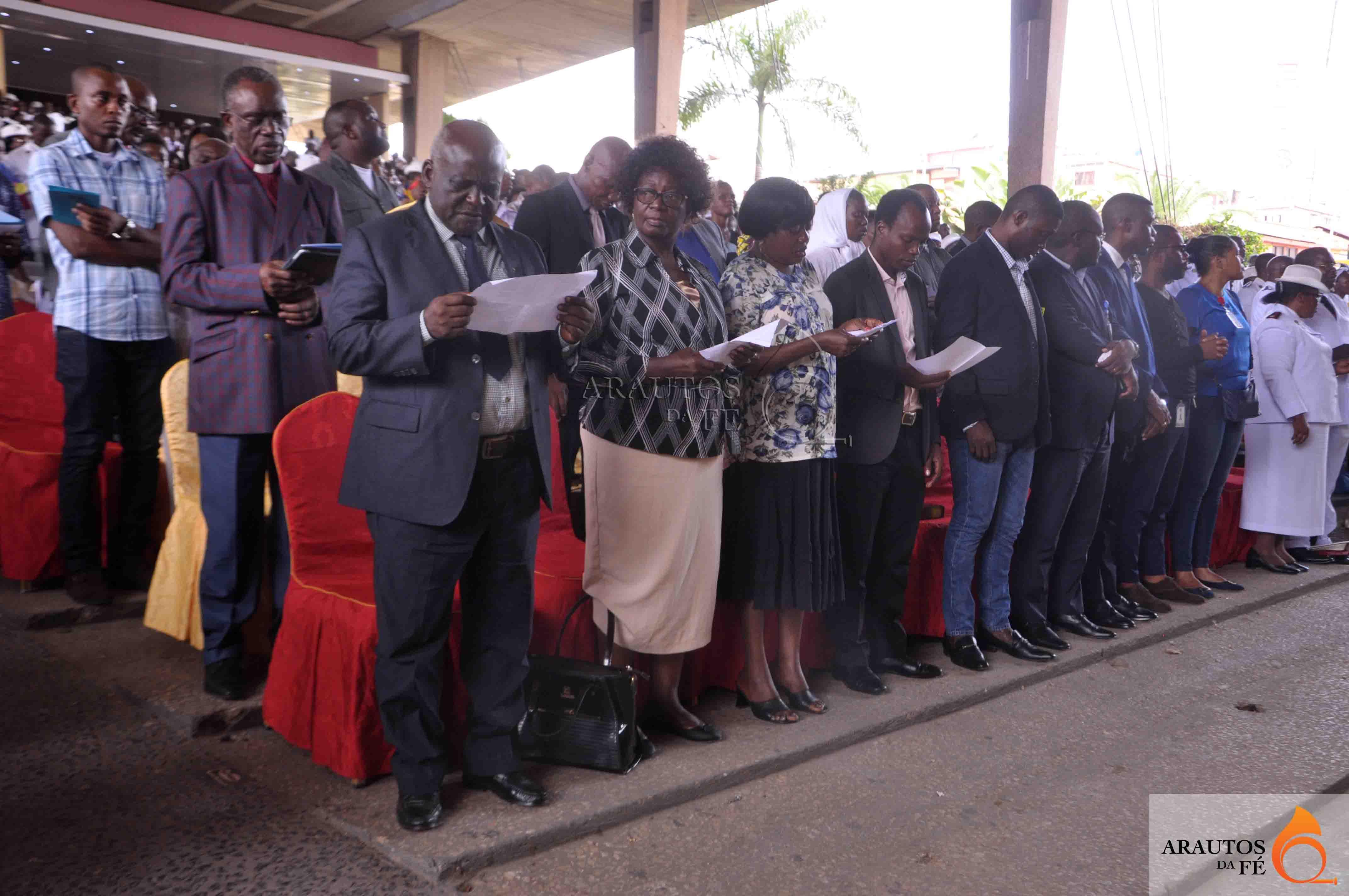 Cerimónia contou com a presença de líderes de outras denominações. (Foto: Jaime Chiquito)