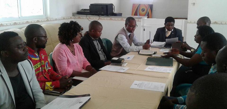 Primeira reunião de Delegação de Luanda, ocorrida dia 6 de Janeiro, no Município do Icolo e Bengo