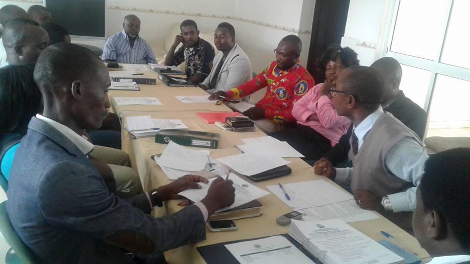 Após a reunião tomou posse o Delegado do Município do Icolo e Bengo. (Foto: Fb da Associação)