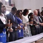 Nova Direcção da juventude da IECA, em Luanda, tomou posse ontem. (Foto: Jaime Chiquito)