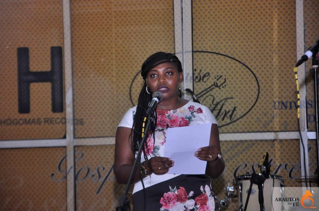 Joyce Kaputu, editora da revista. (Foto: Jaime Chiquito)