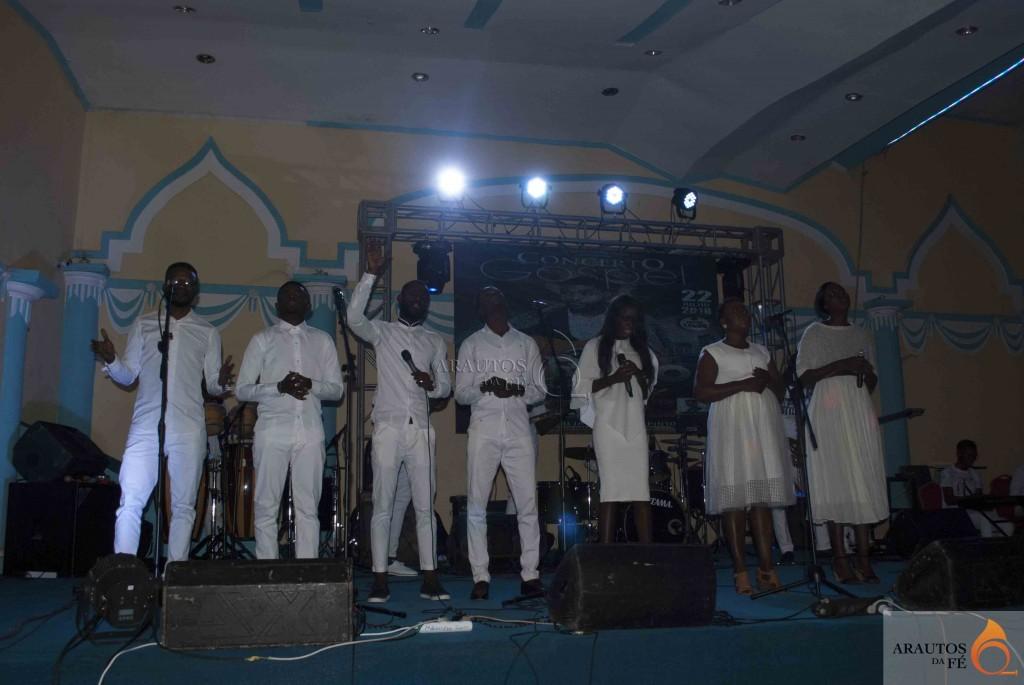 Concerto contou com a participação de outras referências da música gospel