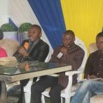 """Pastor Hipólito Ndeka, quando dissertava o tema """"O espírito e a melodia"""". (Foto: Fb Angola)"""