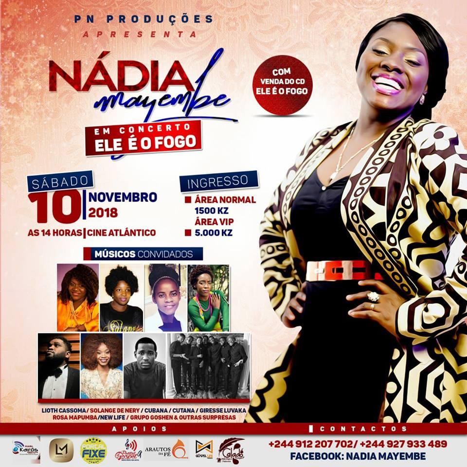 Nádia Mayembe, concerto gospel