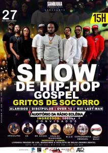 Show de hip hop gospel - Gritos de socorro