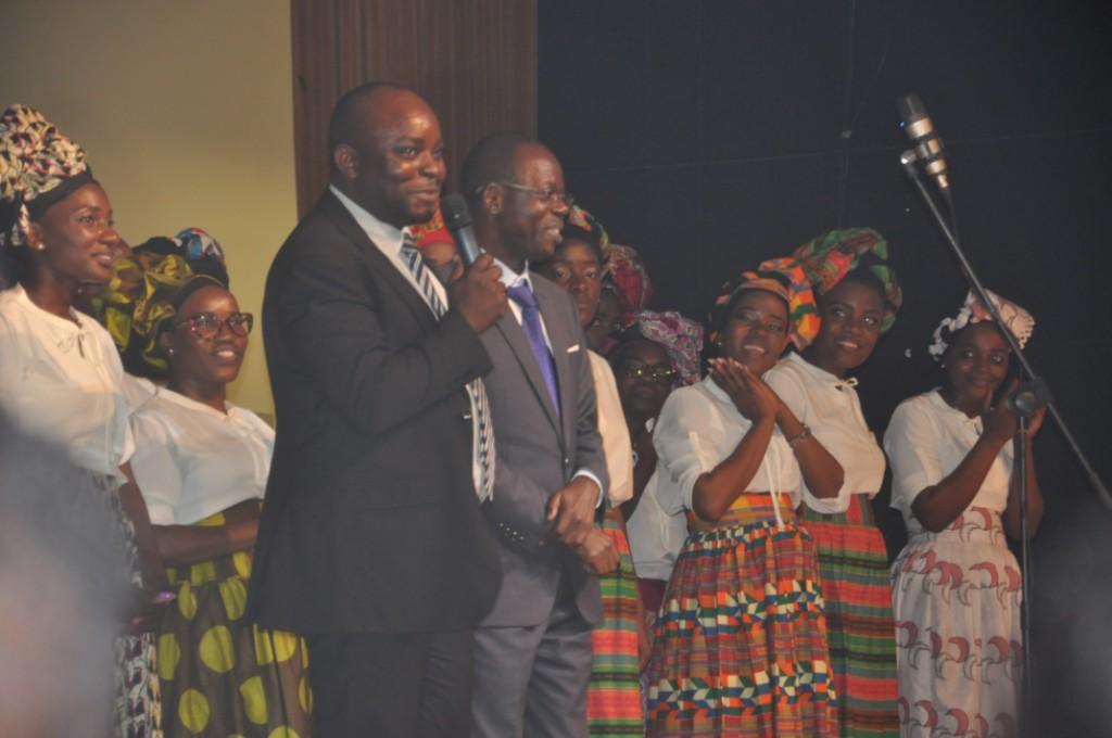 Líderes da IEPA, prestigiaram o evento