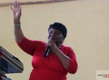 Pastora Filipa Tadeu, coordenadora da Associação das Mulheres Intercessoras (Mulheres que Lamentam).