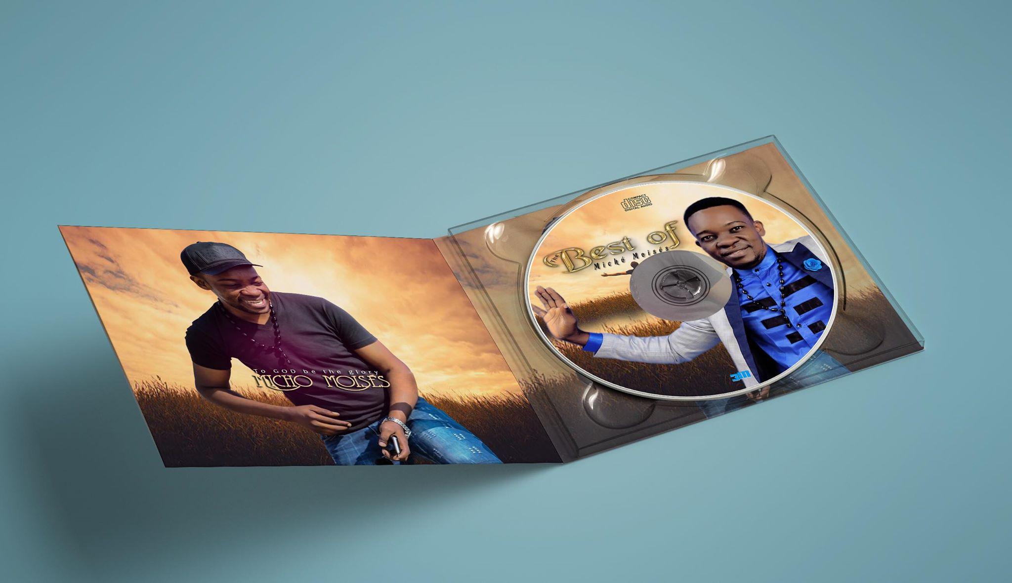 Capa do novo disco de MichóM Moisés
