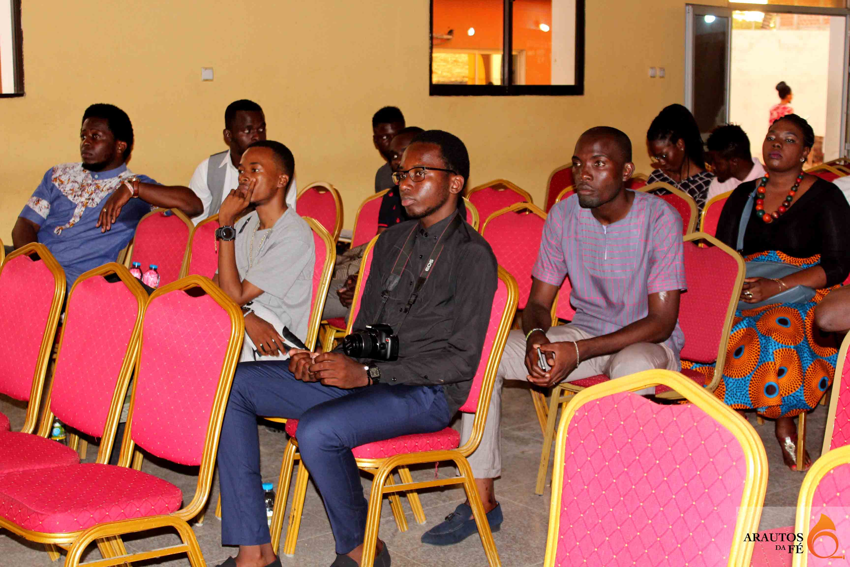 Músicos evangélicos assistiram a cerimónia de apresentação de mais um portal evangélico.