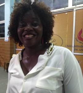 Conceição Silva coordenadora do grupo.