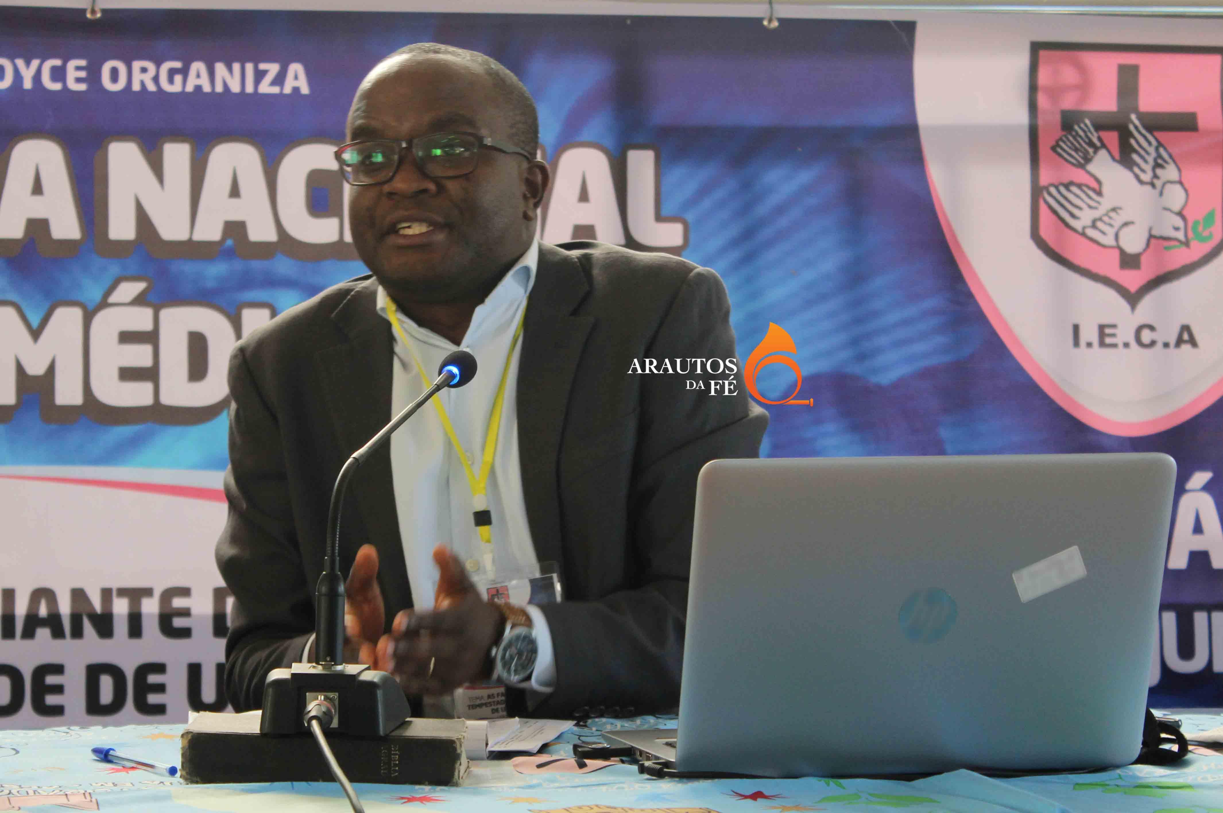 Belarmino Jelembi, director geral da ADRA