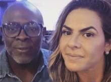 Cantor gospel Kléber Lucas e Danielle Favatto estão separados