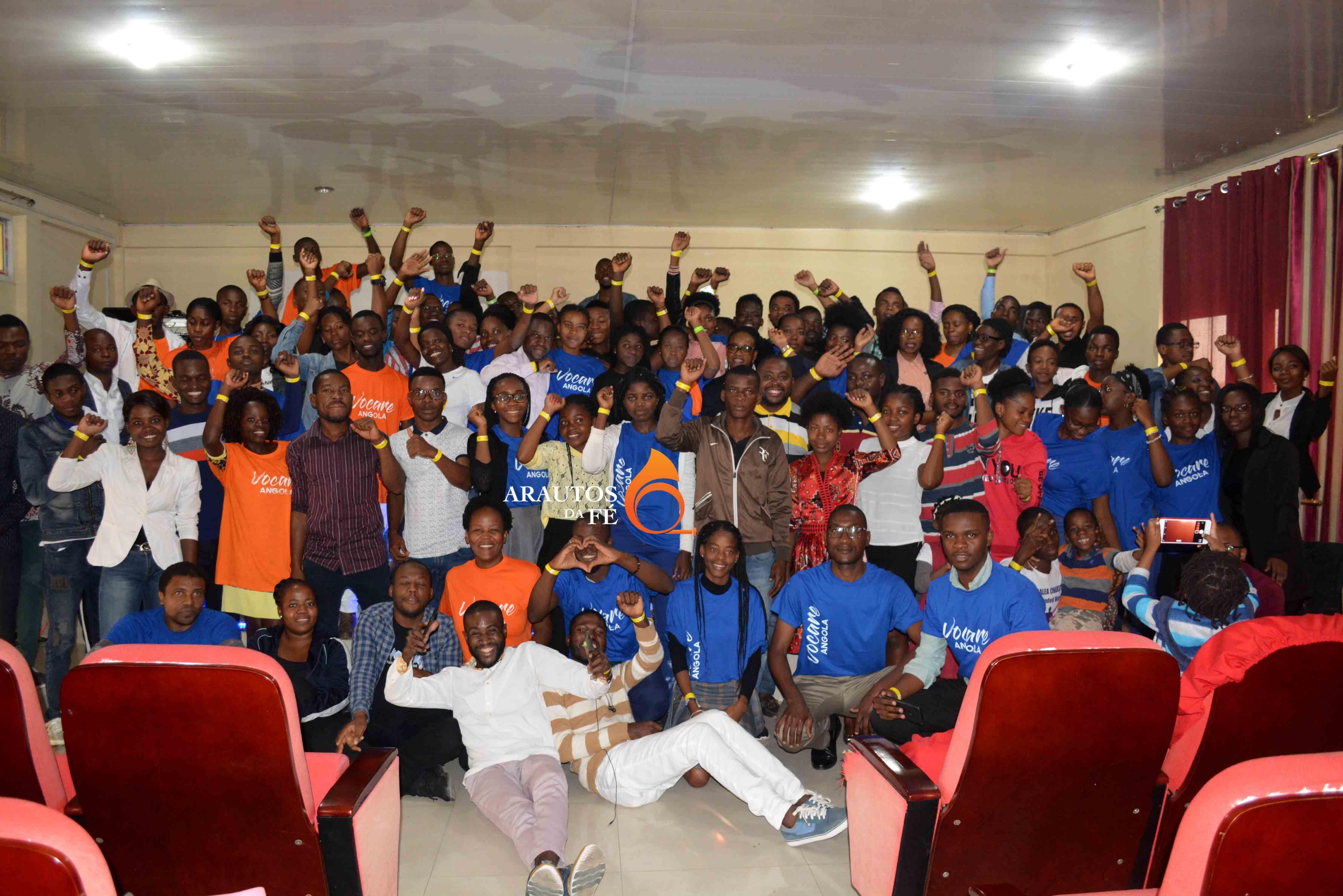 Evento contou com participantes de três províncias, além de Luanda.