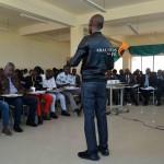 Quadros da IECA reunidos no Lubango para analisar a actividade social da Igreja.