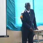 Reverendo Laurindo Kangombe, Secretário Provincial da IECA em Luanda
