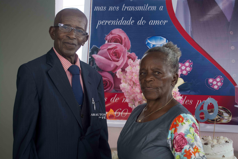 Vasco Capindiça e Anita Chimuma, celebraram a 20 de outubro 60 anos de casamento.