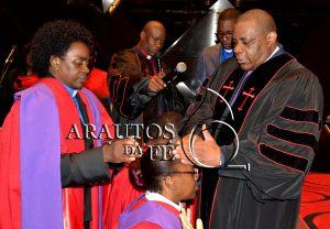 Pastora Loyde e o esposo,
