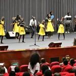 Grupo infantil HBC participou no evento. (Foto: Luzeiro Gospel)