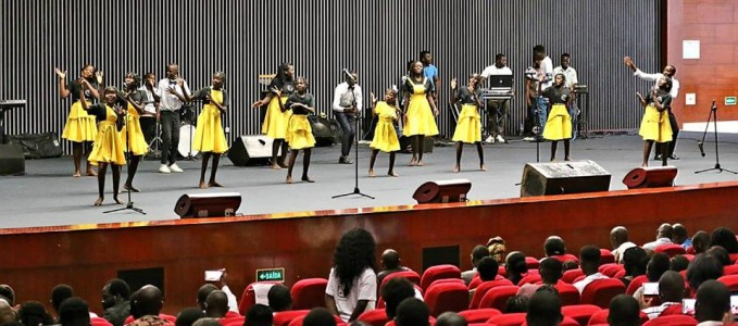 CCB acolheu concerto solidário para apoiar crianças seropositivas
